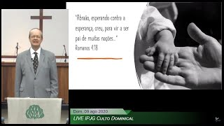 LIVE IPJG - Culto Dominical