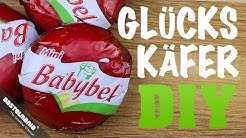 Anleitung Marienkäfer Basteln Silvester Glück Symbol | DIY Crafts Instruction Cheese Ladybug