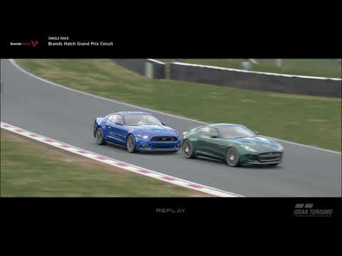 Grand Turismo Sport Game Play - Brands Hatch - Ford Mustang GT