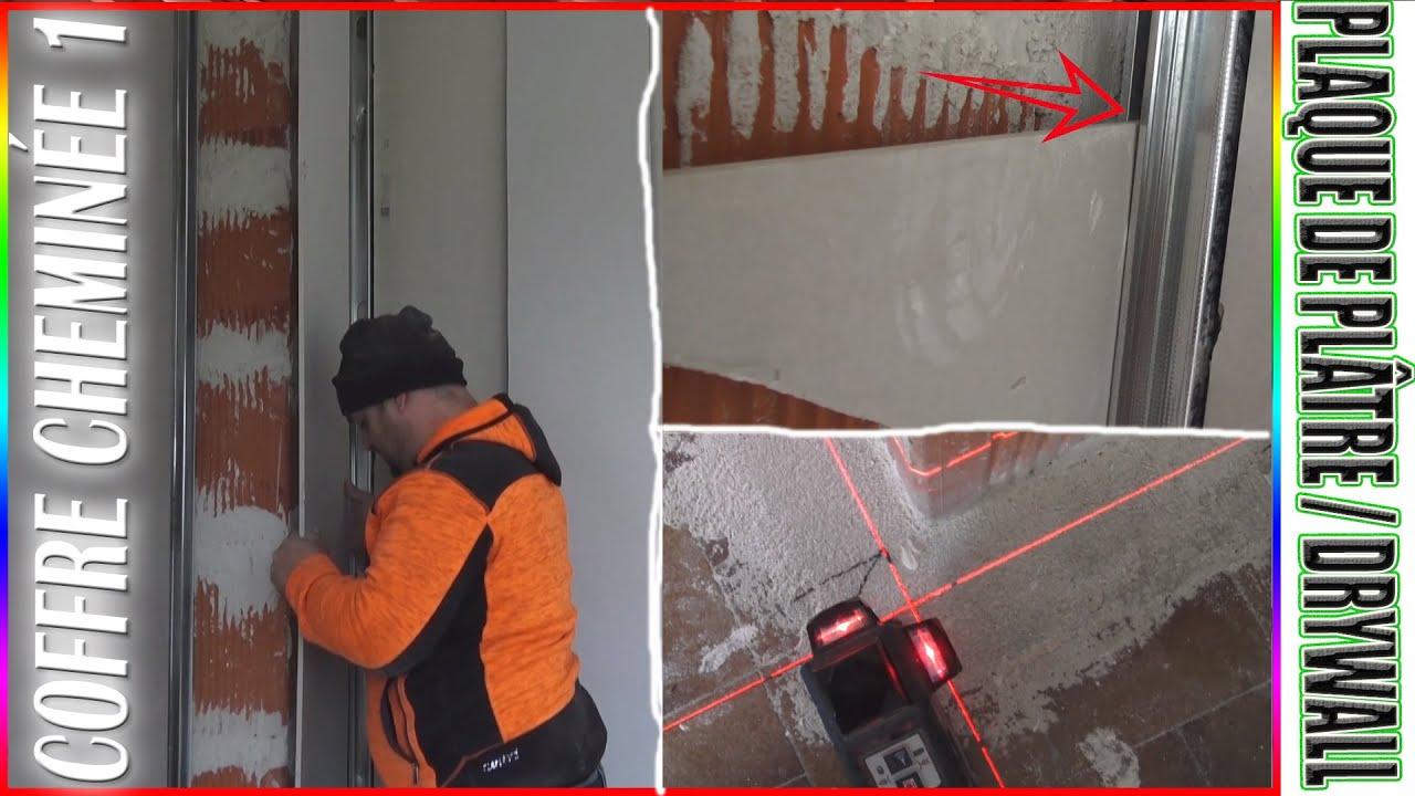 Habiller Un Conduit De Cheminée 1/2 ⏩ (astuce) isoler boisseau cheminÉe en placo / coffre drywall