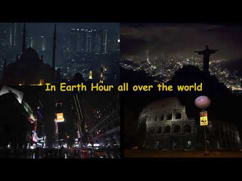 """""""It's Earth Hour""""  Song for 2018 by Annie Lynn"""