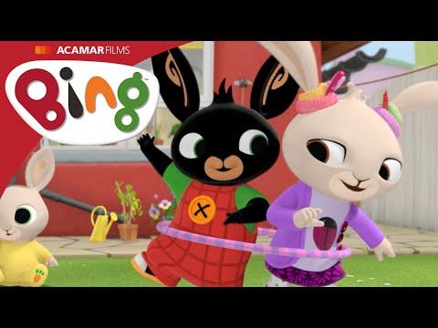 Króliczek Bing- bajka dla dzieci-  Hula Hoop