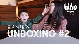 Ernie Unboxes Snoopy & a Book 📫 | Unboxing | HiHo Kids