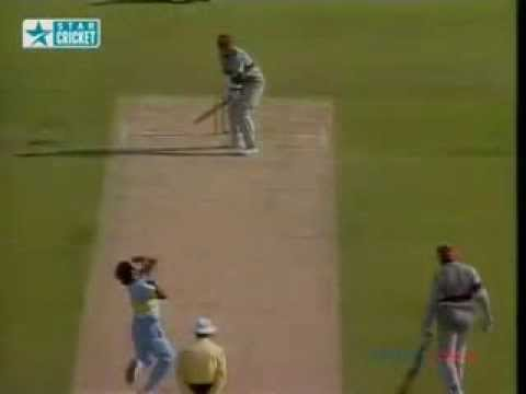 Kapildev Classic late  Outswinger
