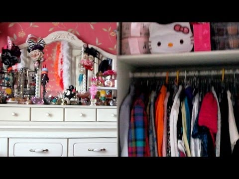 VLOG: Моя комната / ROOM TOUR