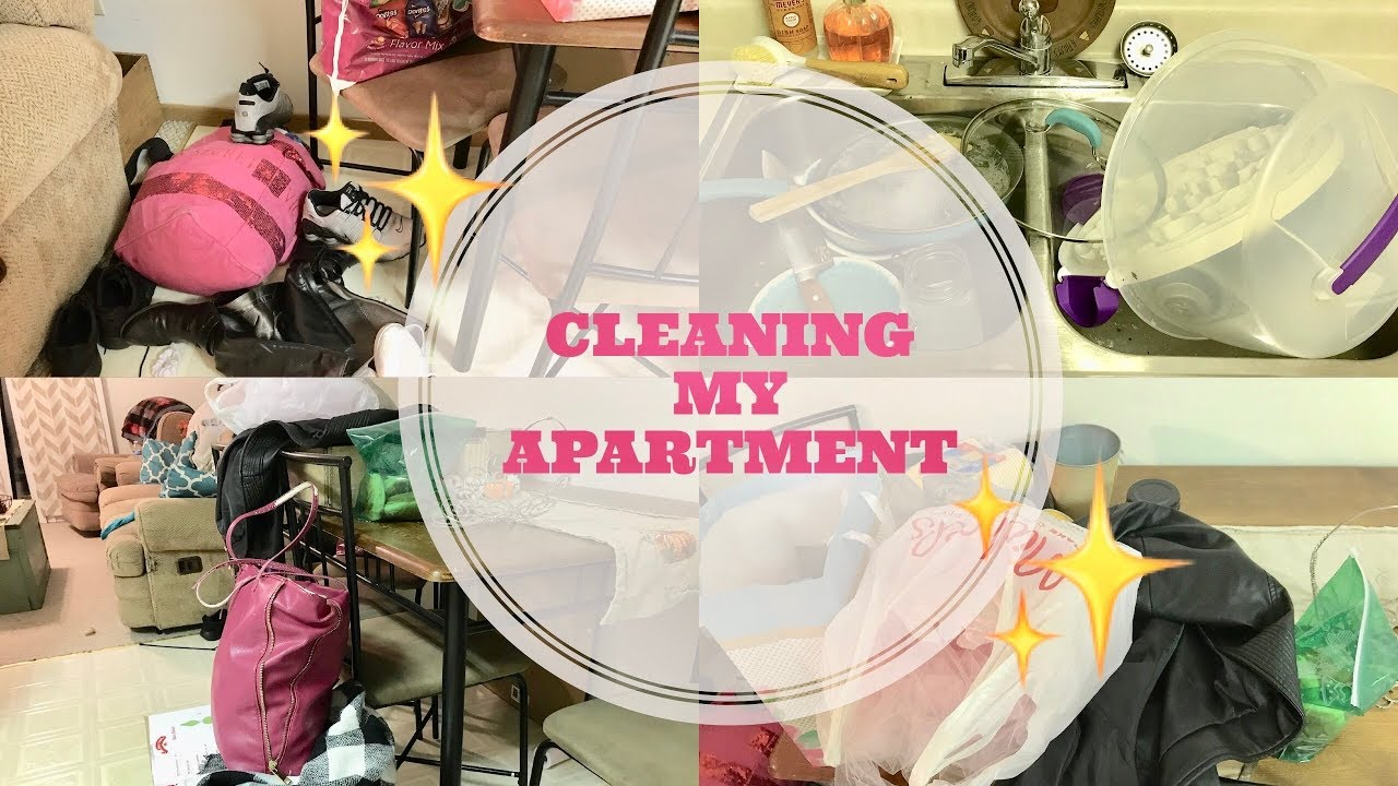 CLEAN WITH ME | SPEED CLEANING MY APARTMENT | MOTIVATIONAL ...
