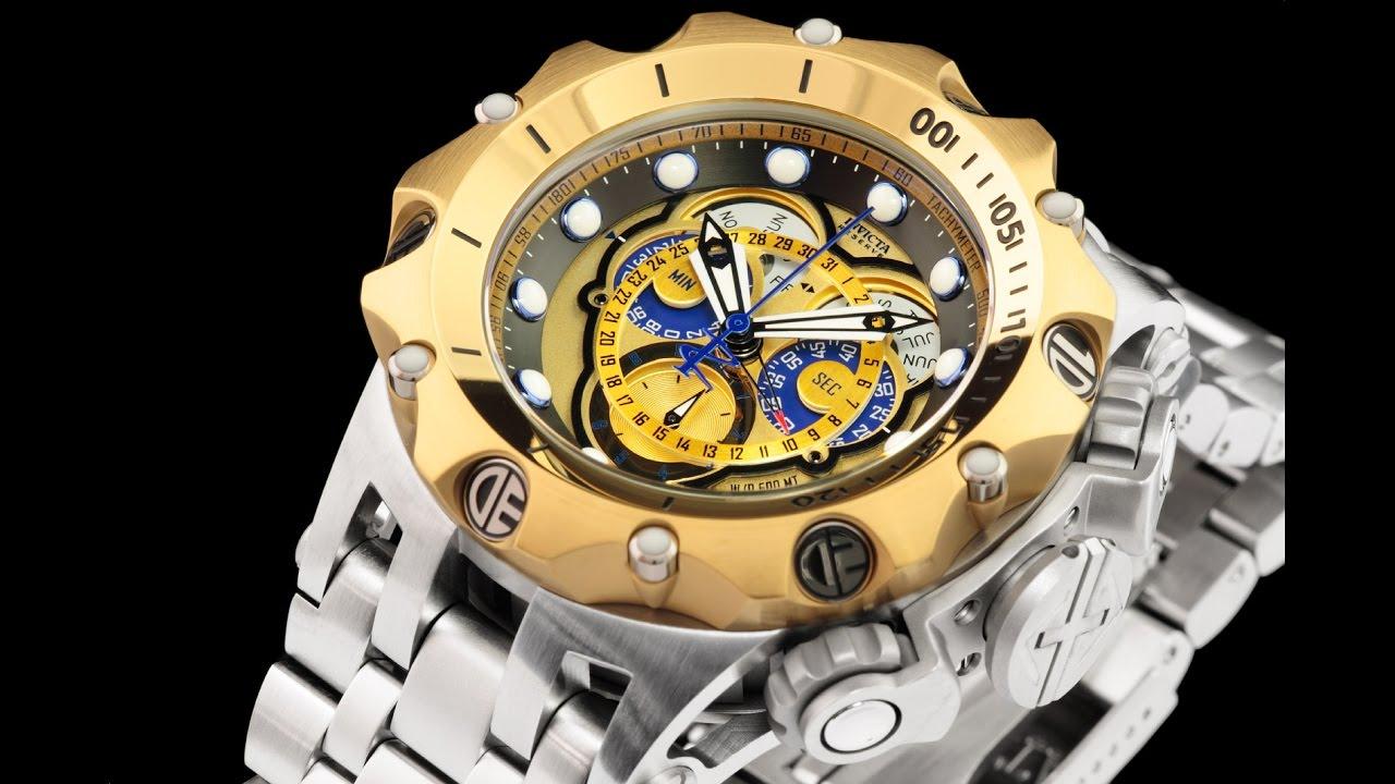 b127a9a639a Invicta 16807 Venom Hybrid Master Calendar Chronograph Bracelet Watch