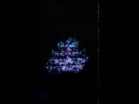 Osaka Castle 3D Show Dec 2013