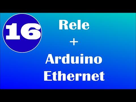 Rele + Arduino Ethernet