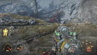 Fallout 4 My surprise encounter with a deathclaw