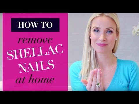 Remove Shellac Nail Polish at Home | 2 Ways | Beauty DIY