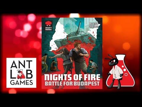 Nights of Fire: Battle for Budapest Kickstarter Playthrough Preview
