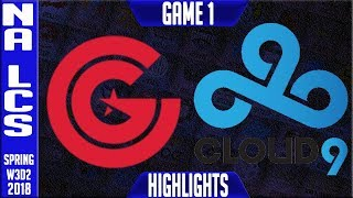 Video CG vs C9 Highlights | NA LCS Week 3 Spring 2018 W3D2 | Clutch Gaming vs Cloud9 Highlights download MP3, 3GP, MP4, WEBM, AVI, FLV Juni 2018
