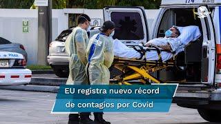 Según la Universidad de Johns Hopkins, Estados Unidos no había rebasado la barrera de los 2 mil muertos por Covid-19 desde hace tres meses; la cifra total de fallecidos subió a 159 mil 990