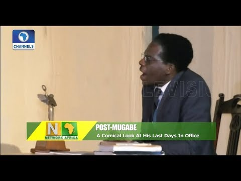 A Comical Look At Mugabe's Last Days In Office |Network Africa|