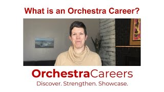 What is an Orchestra Career?
