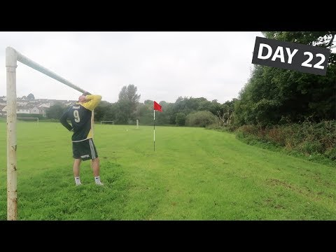 INSANE *DIY* FOOT GOLF MATCH!!!