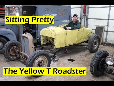 Suspension Mock Up - Yellow T Roadster