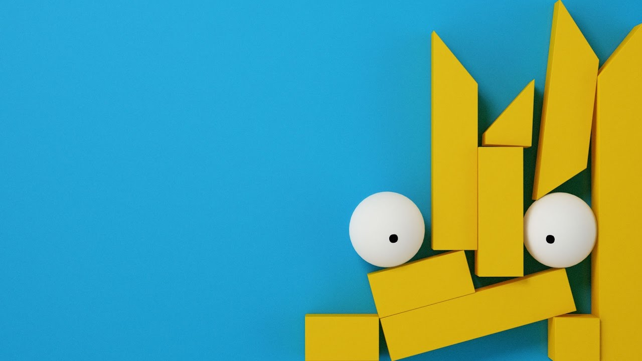 Channel 4 Simpsons Ident YouTube