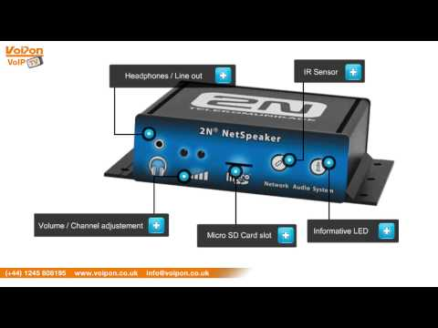 2N NetSpeaker Video Review / Unboxing