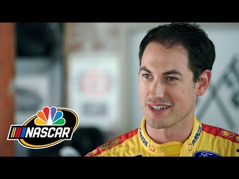 nascar-behind-the-driver:-joey-logano-surprised-by-mike-mclaughlin-|-motorsports-on-nbc