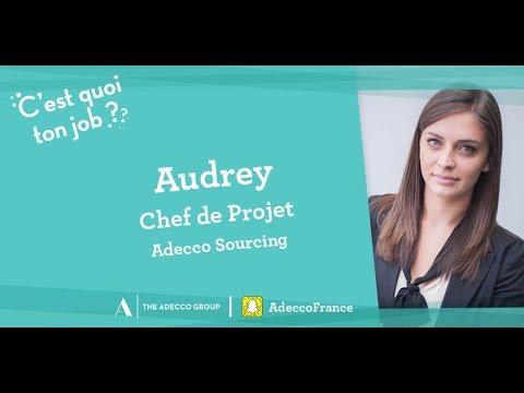 [C'est quoi ton job ?] Chef de Projet chez Adecco Sourcing