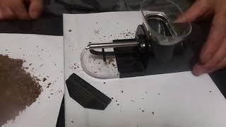 Изготовление сигарет из натурального табака механической и электрической машинкой .