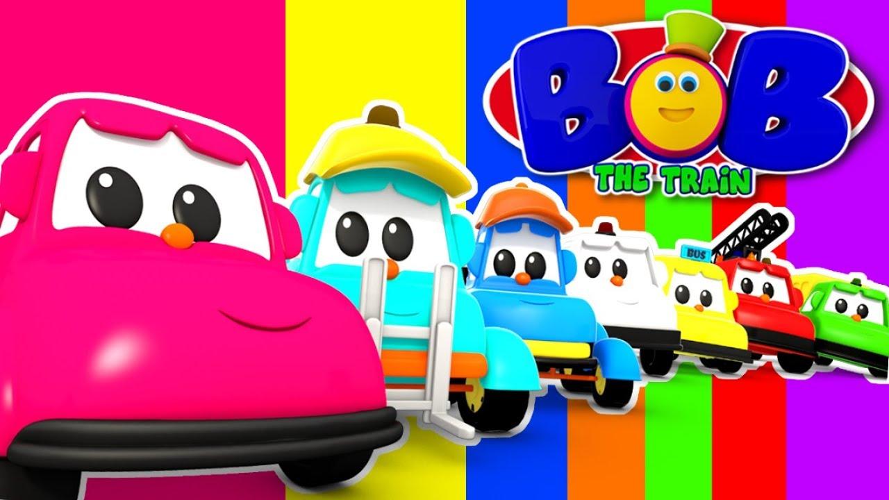 Learn Colors with Bob The Train | Cartoon Videos for Babies | Bob Fun Series - Kids TV