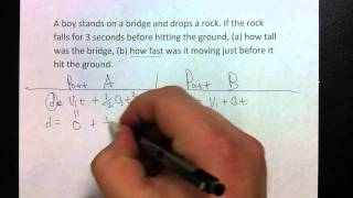 Physics Chapter 6 review Vertical motion