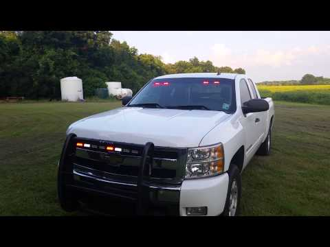 Emergency light set up 2011 chevy silverado