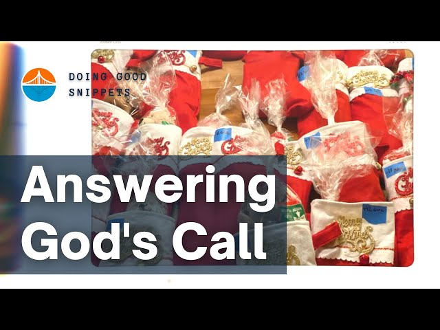 Answering God's Call | Doing Good Snippets