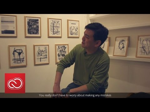 IPad Pro And Photoshop Sketch With Illustrator Yutanpo Shirane | Adobe Creative Cloud