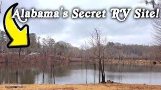 THE BEST KEPT SEĊRET IN ALABAMA ! RV CAMPING at JACKSON LAKE ISLAND Millbrook Alabama