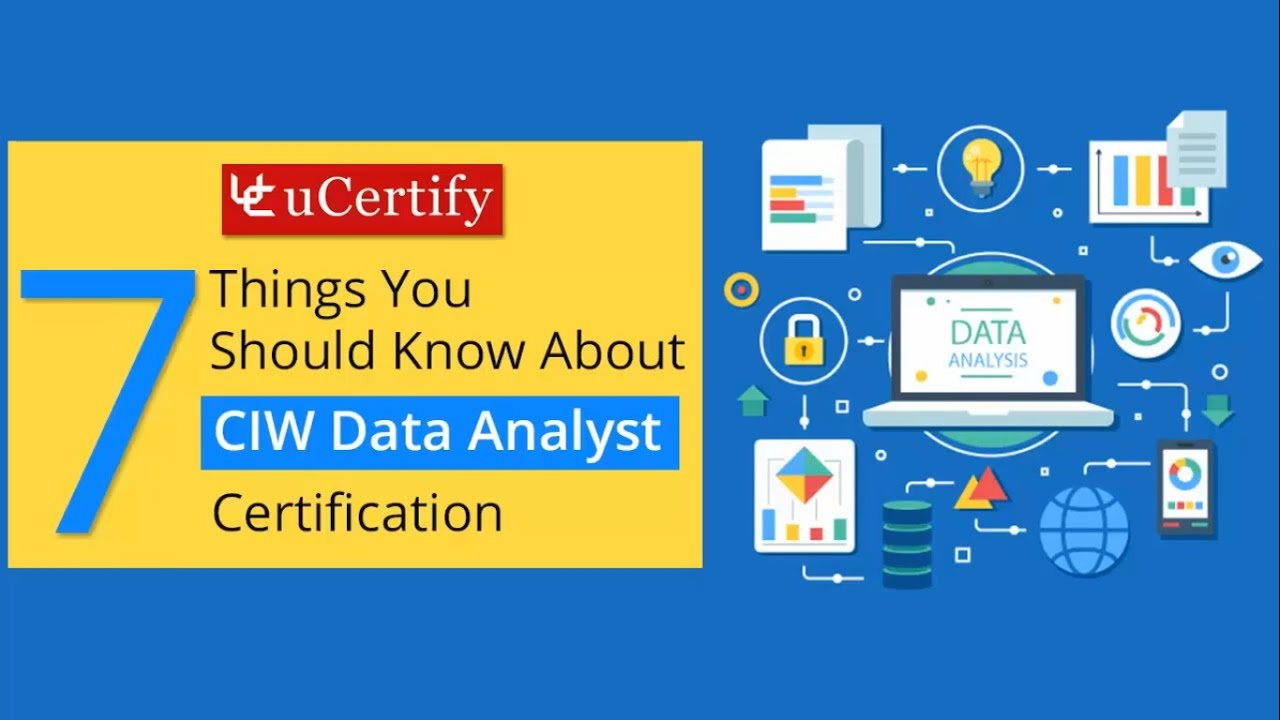 Ciw Data Analyst Certification Youtube