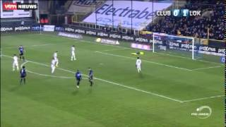 Club Brugge - Lokeren 1-1 (VTM - Stadion)