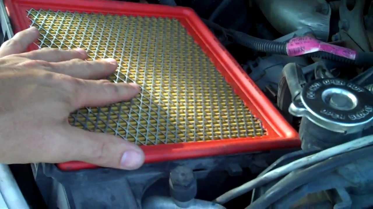2003 2007 Dodge 2500 59 Cummins Air Filter Change Youtube Ram Fuel Location