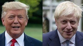 Boris Johnson tells Donald Trump UK favors 'trade peace'