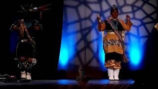 NCAI 2019 NATIONAL CONGRESS OF AMERICAN INDIANS - Zuni Dance Group   Terre Gatewood Commentary