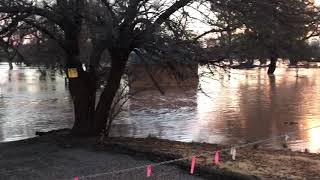 Bates Road flooding in Cottonwood