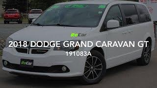 2018 DODGE GRAND CARAVAN GT - 191083A