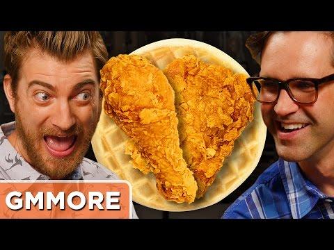 Waffle Fried Chicken Taste Test