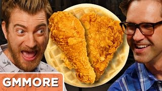 Waffle Fried Chicken Taste Test