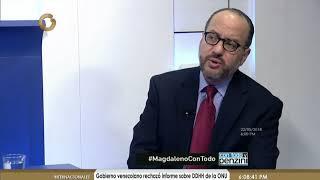 John Magdaleno: Las relaciones entre EEUU y Venezuela están estancándose (Parte 1 de 5)
