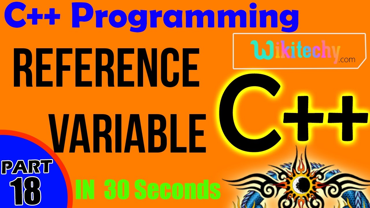 Reference Variable in C++ | What is Meant by Reference Variable in C++ |  C++ Interview Questions