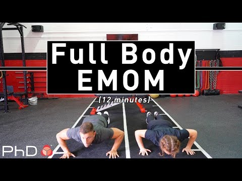 12 Minute Full Body EMOM Workout
