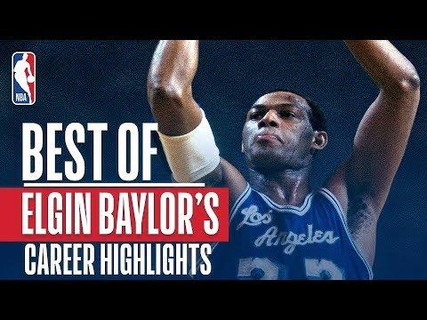 Elgin Baylor's BEST Career Highlights