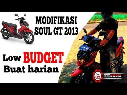 Modifikasi yamaha mio soul GT 2013 untuk harian