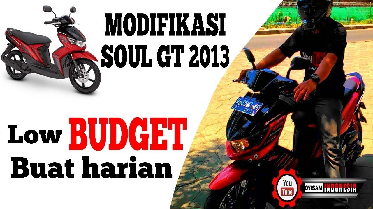 Modifikasi Yamaha Mio Soul Gt 2013 Untuk Harian Youtube