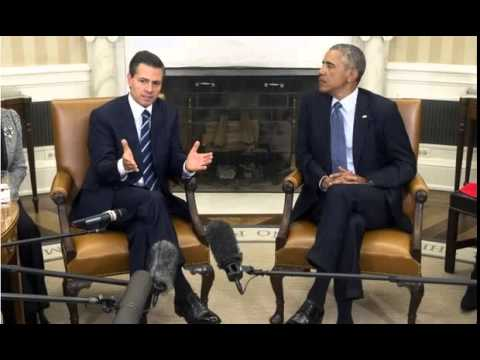 BBC News-Obama pledges Mexico's Pena Nieto drugs support