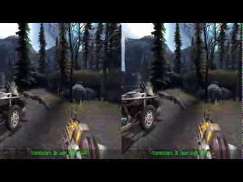 Nvidia 3D Vision - Half Life 2